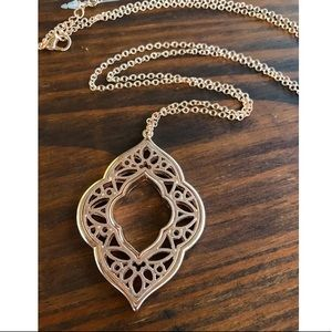 Jewelry - Long Gold Moroccan Pendant Necklace